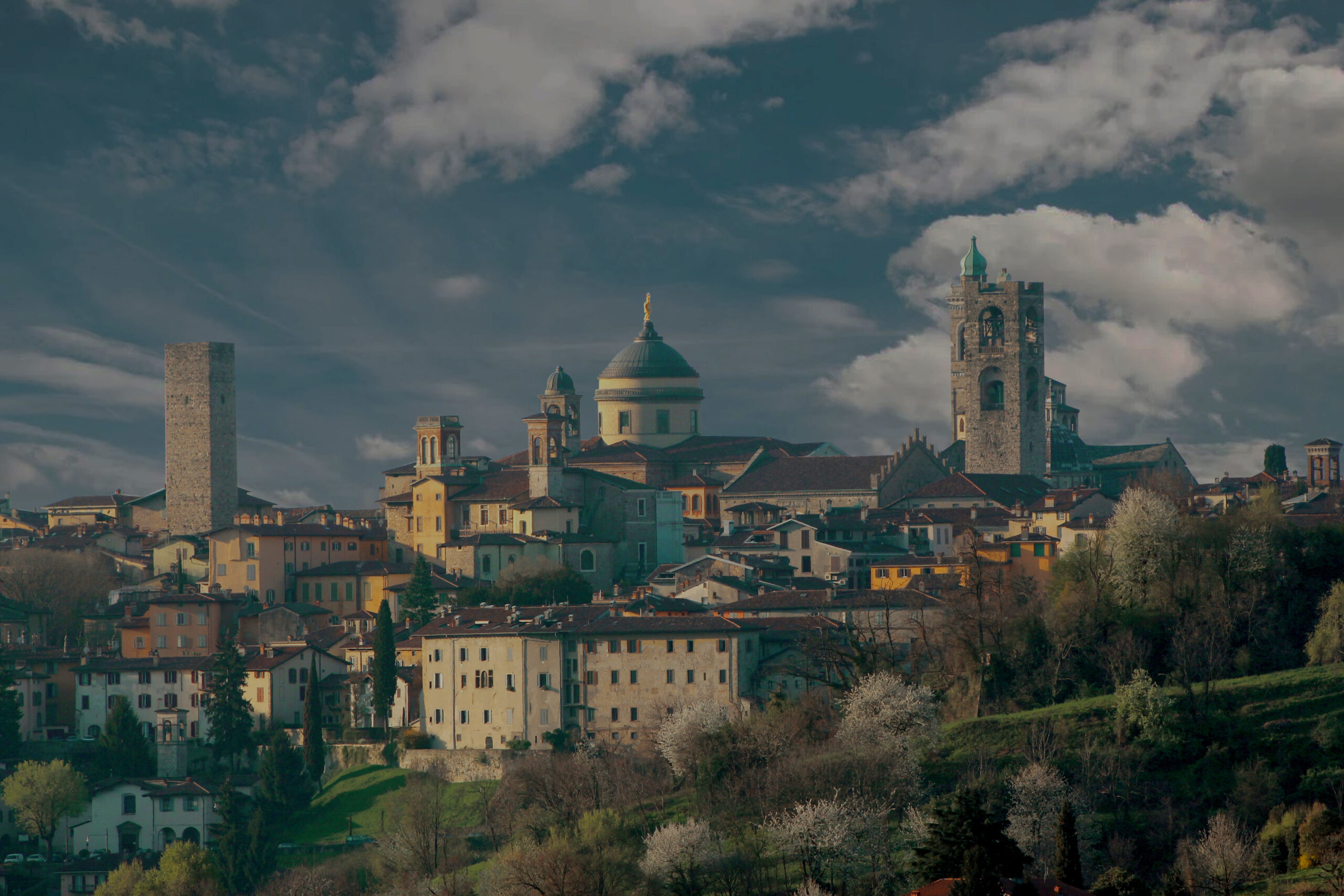 Bergamo landscape